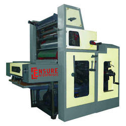 Ensure Semi-Automatic Offset Printing Machinery, For Industrial, Model Name/Number: Ee Nwf120