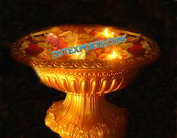 Fiberglass DST EXPORTS Wedding Decoration Flower Bowl