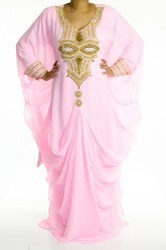 Soft Pink Swarovski Kaftan