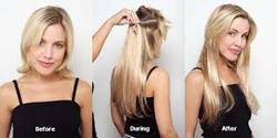 Straight Hair Extensions Services