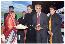 NDTV Toyota Greenies Award 2010