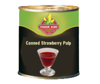Canned Strawberry Pulp