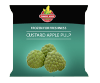 Frozen Custured Apple Pulp