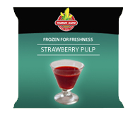 Frozen Strawberry Pulp