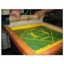 Multicolor Screen Printing Service
