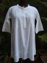 White Cotton  Beach Wear