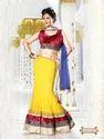 Stunning Designer Wear Lehenga Sarees