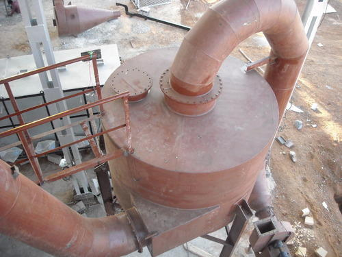 Mild Steel Cyclone Separator