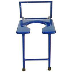 Blue Commode Stool