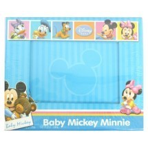 Blue Colored Mickey And Minnie Mouse Photo Frame Birthday Return