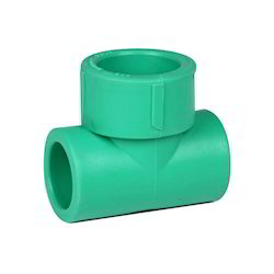 Plastic PPR Reducer Tee