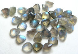 Labradorite Faceted Trillion Lot Gemstone