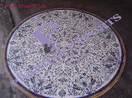 Decorative Round Marble Table Top