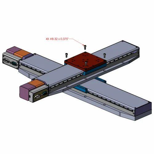 Linear Motion Slides - XY Slide Unit Exporter from Mumbai