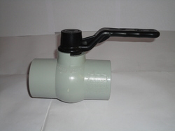 PVC Solid Gray Ball Valves
