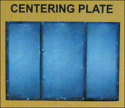 Centering Plate