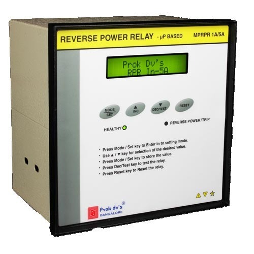 digital reverse power relay relays and contactors prok devices rh indiamart com reverse power relay basler reverse power relay how it works