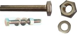 BSW STEEL TYPE SS Nut Bolt for Nipple, Packaging Type: BOX