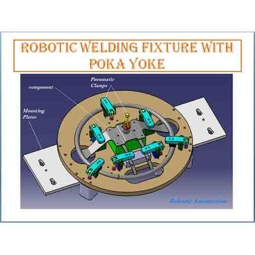 Welding Fixture Robotic Welding Fixture With Poka Yoke