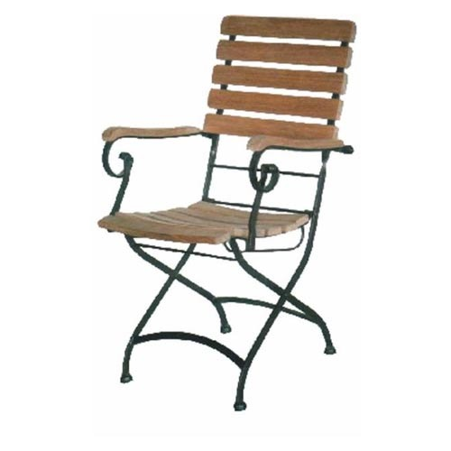 Wrought Iron Folding Chair Chairs Manufacturer From