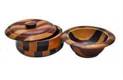 Eapdi And Sheeham Wooden Bowl