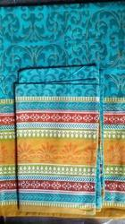 Glitter Printed Double Bed Sheet