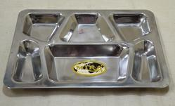 American 6 Compartment Thali