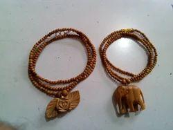 Sandalwood Chain Pendants