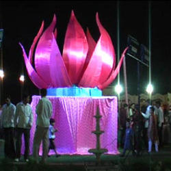 Wedding decoration in jaipur vermala concept junglespirit Images