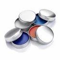 Silver Aluminum Lip Balm Tin