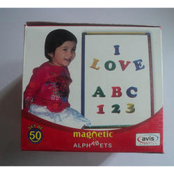 Magnetic Alphabets with Jar
