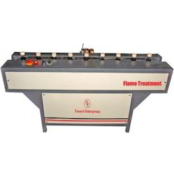 Flame Treatment Machine For Round Bottles