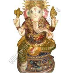 Ganesha Meena Painting