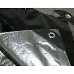 Black Plastic Tarpaulin