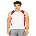 Mens Sleeveless Cotton T Shirt