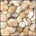 Oyster Colored River Bed Pebbles