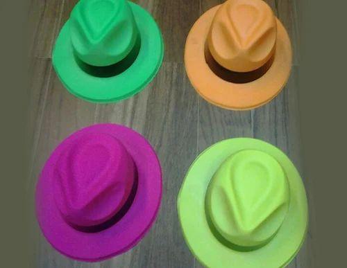 Party Hats - Cowboy Shape Neon Hats Wholesale Trader from Mumbai 21d6212ba11