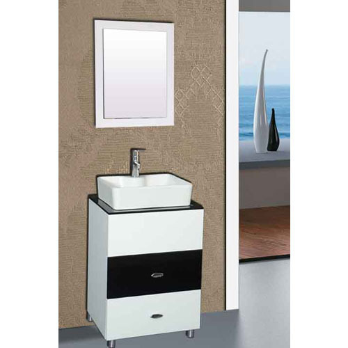 Floor Mounted Vanities Cabinets At Rs Unit Bathroom - Bathroom vanities floor mounted
