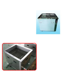 Single Tank Ultrasonic Cleaners for Armour Industry