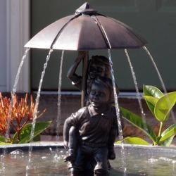 Decorative Umbrella Fountain
