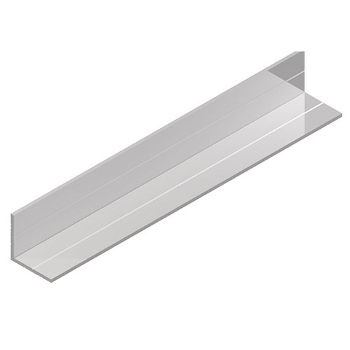 """5 PIECES 2/"""" X 4/"""" ALUMINUM ANGLE 1//8/"""" THICK 4/""""  IN LENGTH"""