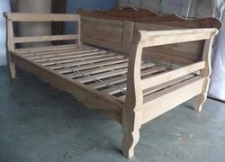 Wooden Carved Day Bed