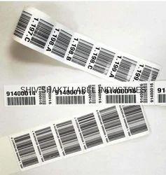 Pre Printed Barcode Label