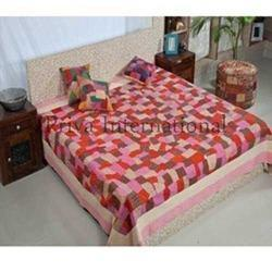 Traditional Rajasthani Patch Work Bedspread