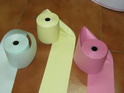 Thermal Colour Paper Rolls