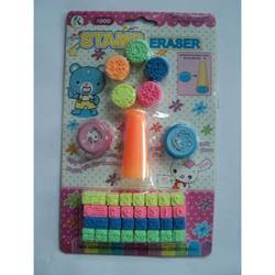 Eraser Cum Stamp Set