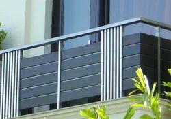 Custom Stainless Steel Balcony Guardrail