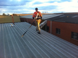 Roof Line Safety System