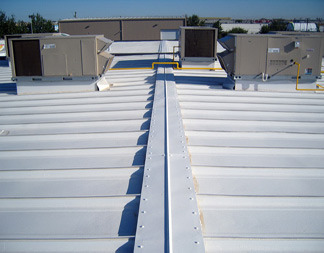 Thermal Heat Insulation Coating & Services - Roof Heat
