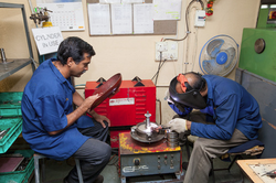Welding Section